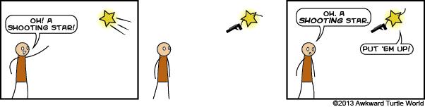#22 shooting star
