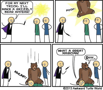 #25 Un*bear*able Magic